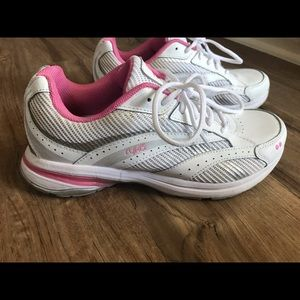 Women's Ryka Radiant Plus Size 7.5 White and Pink
